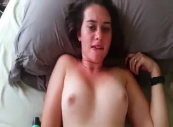 Great tits shy moaning sexy wife