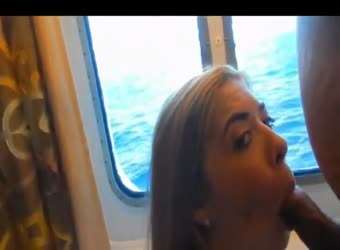 19yo on her first adult vacation sex cruise