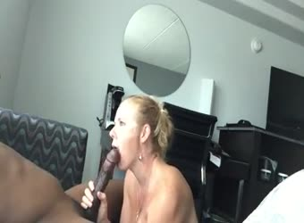 Hotwife records BBC session for husband to watch