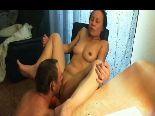 Asian mature pussy think already