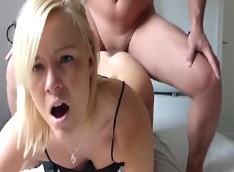 German screaming anal at home