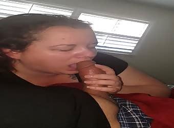 My girls sucks some bomb dick...wat do u think?