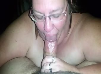 Just me getting a blowjob