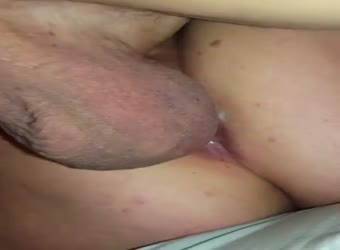 My wife getting fucked having a quivering orgasm