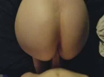 Pounding her big ass from behind
