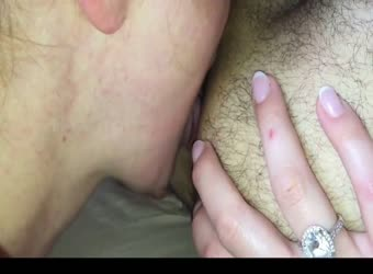 Epic rimjob and blowjob from horny wife