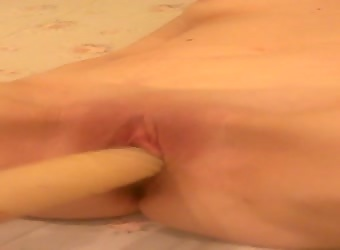 watch me fuck my shaved pussy