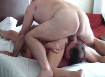 MMF threesome sex with wife and hired bull