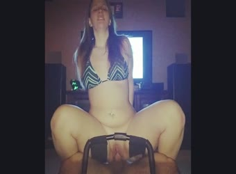 Chick with floppy tits has unique dick riding