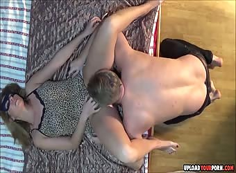 Passionate Real Sex On The Bed