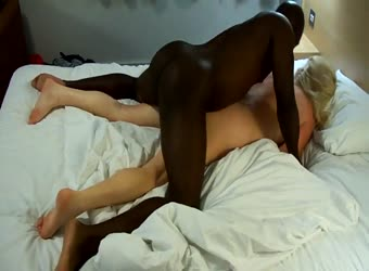My wife first black