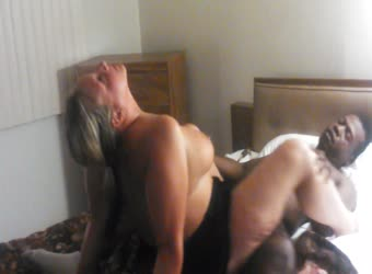Chubby blonde wife goes wild with BBC