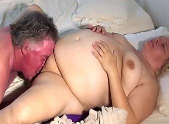 Tina enjoying me eating and fucking her pussy