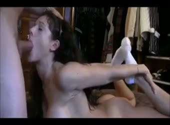 Submissive girlfriend is a whore for the day