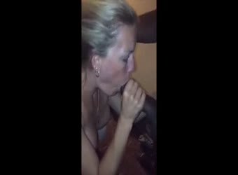 Husband watches hot blonde wife get wild with BBC