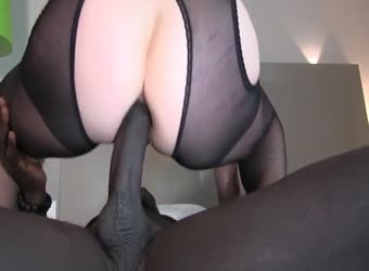 Milf has been dying to feel a big BBC in her ass