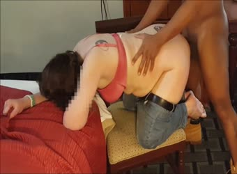 Sarah getting pounded