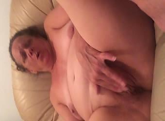 Joan Masturbating her Pussy