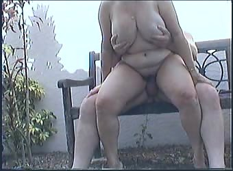I get fucked outside in the garden