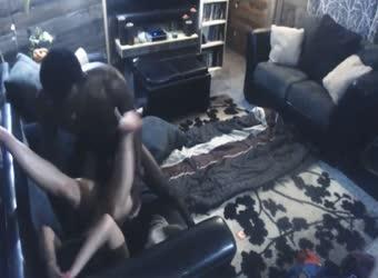 Hidden cam cheating wife interracial pt2