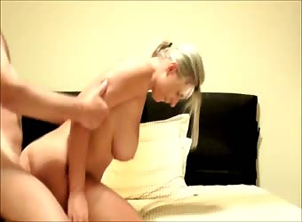 Lolita with big tits loves my cock