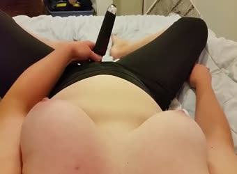 Cumming hard after Yoga (wait for it)
