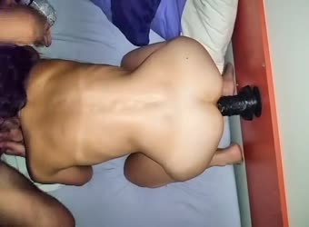 Training my slut for our black friend