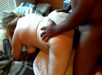 Chubby wife watched fucked by BBC