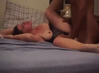 Wife takes black dick for watching hubby