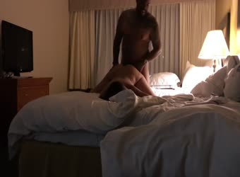 Milf Invites BBC To Her Hotel Room