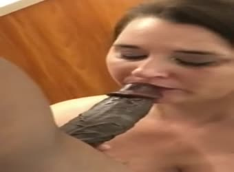 Chunky white wife fucked and jizzed by black