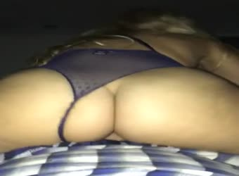 Tremendous ass riding cock reverse pov