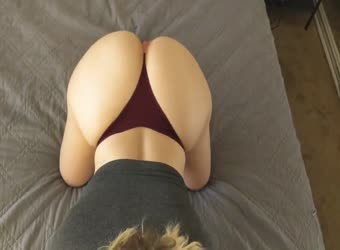 GF Has Delicious Big Booty Exposed