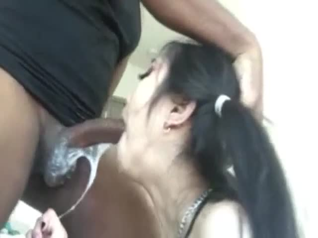 Black black deep dick hoe throat