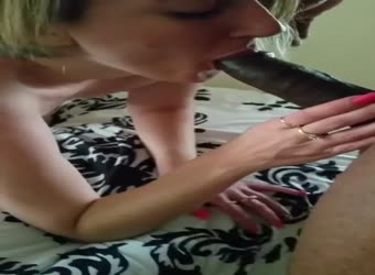 White Girl Enjoys Black Dick