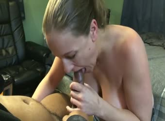 Sucking a black friend
