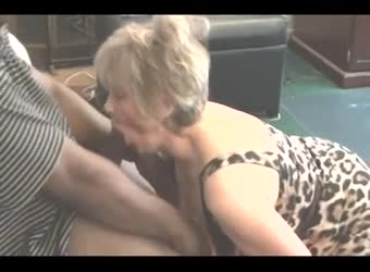 Granny Becomes A Whore Again With BBC
