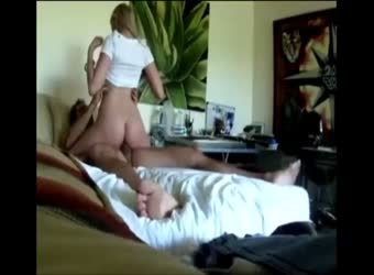 Gorgeous blonde wife on real homemade