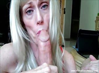 Granny Can Be The Perfect Cocksucker