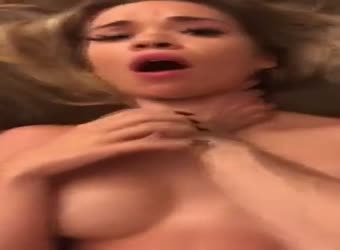 Perfect busty teen fucktoy getting used