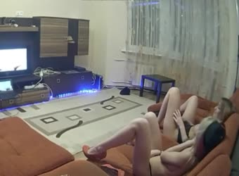 Caught sister and her friend watching porn