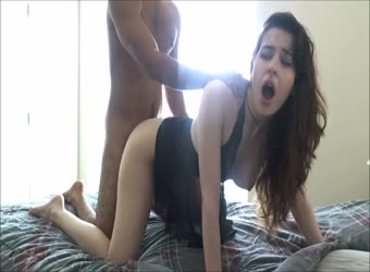 Tiny teen fucktoy loses her shit with a big dick