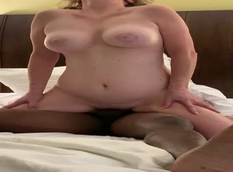 My wife big orgasm on black friend