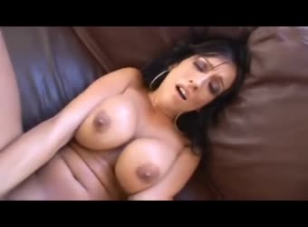 Beautiful busty babe getting plowed by massive bbc