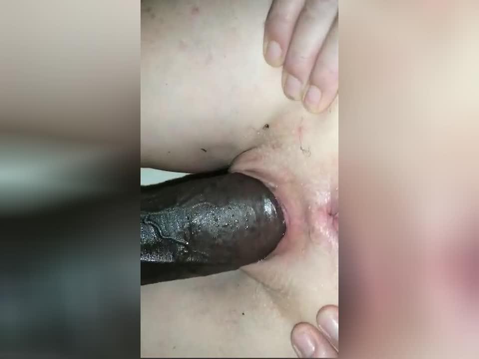 Black Pussy Cumming Black Dick