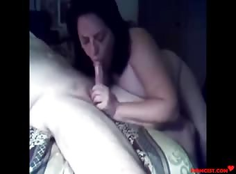 Stepmom Swallows Sons Cock- CAUGHT