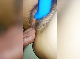 Hairy Milf Dp Orgasm
