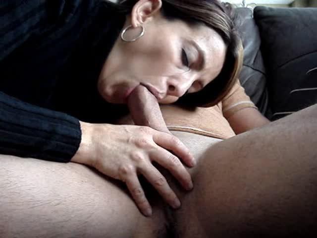 Amateur Black Cock Sucking