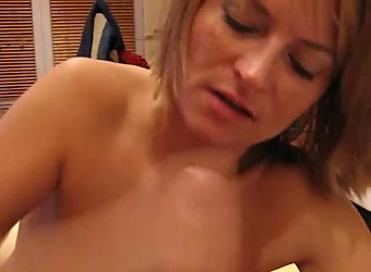 Blonde loves a big facial cumshot homemade porn