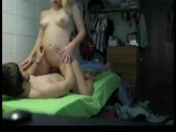 Hot dormroom college sex tape